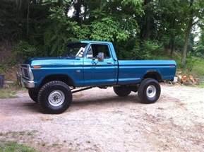 1974 Ford F250 1974 F250 Highboy Truck 1974 F250 Highboy 38x12 50x16 5