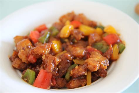 sweet crumbs sweet and sour pork
