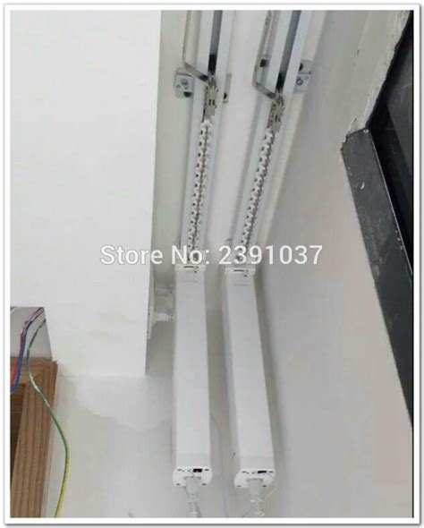 automated curtain track brand new silent motorized double curtain track smart