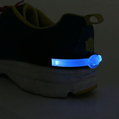 clip on running light running shoe lights usb rechargeable clip lights for