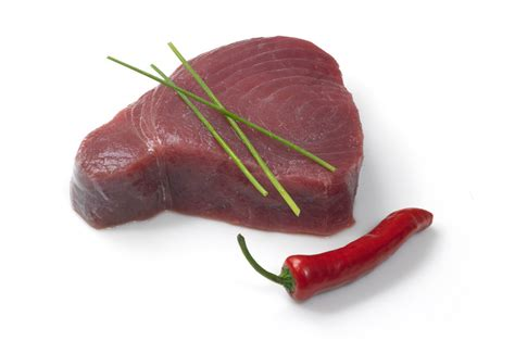 Tuna Loin Sashimi Grade tuna steak sashimi grade from wing of st mawes
