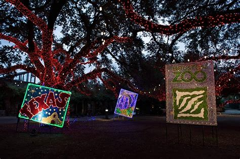 the zoo lights houston a zoo review highways