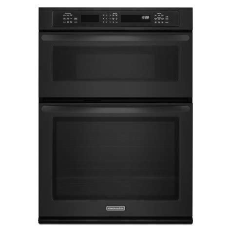 kitchenaid kemsbbl  built  combination wall oven