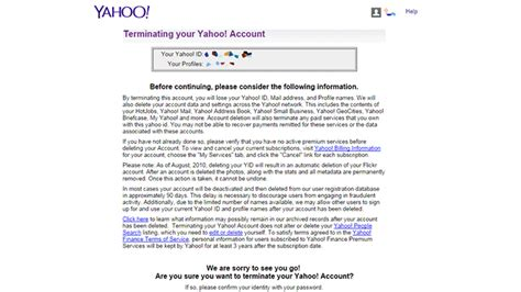 how to delete yahoo email delete yahoo mail account easy steps
