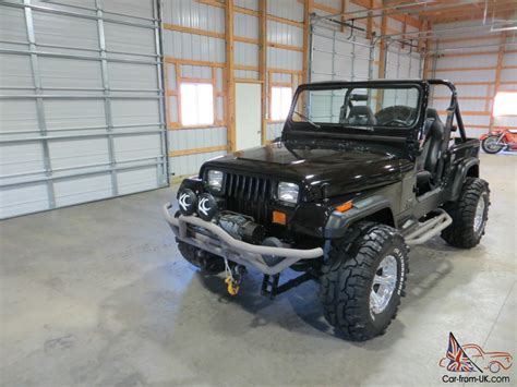 custom black jeep 1989 jeep wrangler custom black no reserve