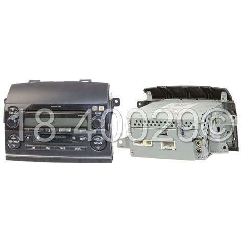 Toyota Radio Parts Toyota Radio Or Cd Player Parts View Part Sale