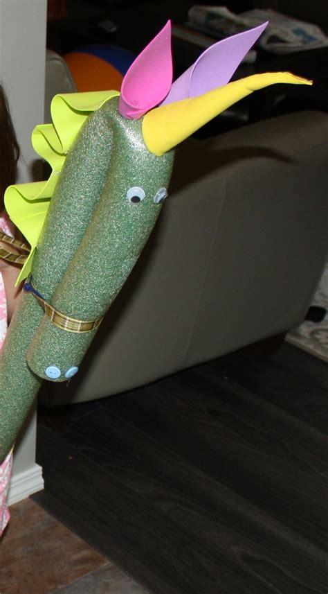 pool noodle unicorns    noodle  walmart bending  top    zap strap