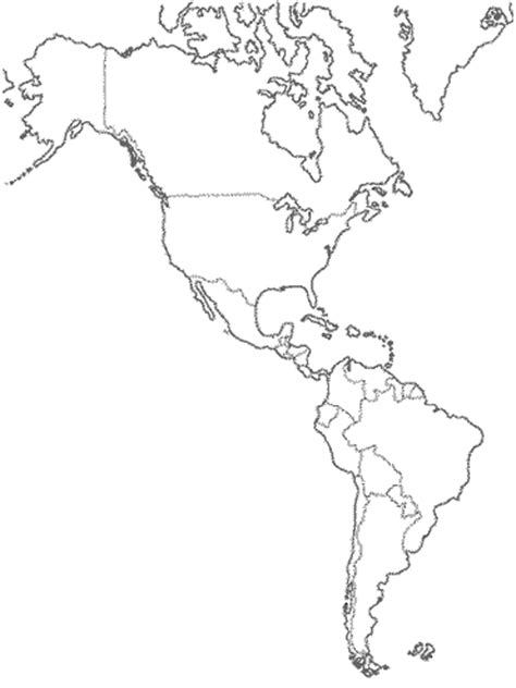 blank political map of america blank map of central america and mexico
