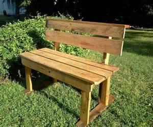 Patio Bench Diy Diy Pallet Patio Bench Ideas 99 Pallets