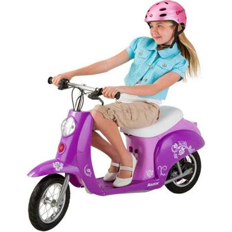 razor electric scooter for 10 year old girls razor pocket mod electric scooter multiple colors