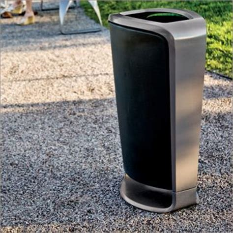 Landscape Forms Plainwell Litter Receptacle 39 Best Images About Litter Recycling Receptacles On