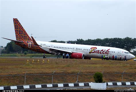 batik air flight information pk lbo boeing 737 9gper batik air fadhil fachri