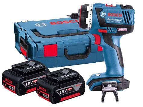 batterie bosch 1171 bosch gsr18vecfc2 18v cordless drill flexiclick 2 x 4 0ah