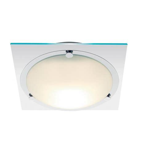Searchlight 2381cc Bathroom Lights 1 Light Polished Bathroom Flush Ceiling Lights