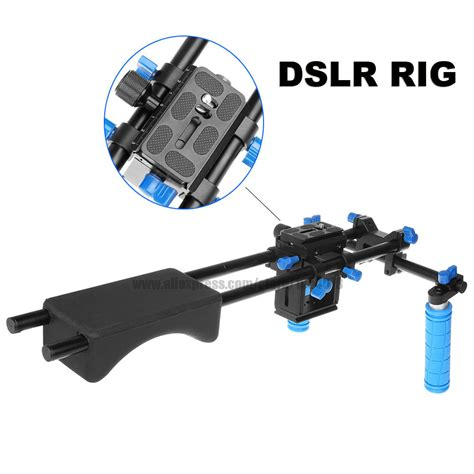 Dslr Rig Support By Mlmfoto buy andoer d100 aluminum alloy camcorder