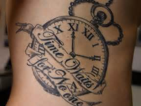 Nice clock tattoo on arm black ink clock tattoo on arm black ink best