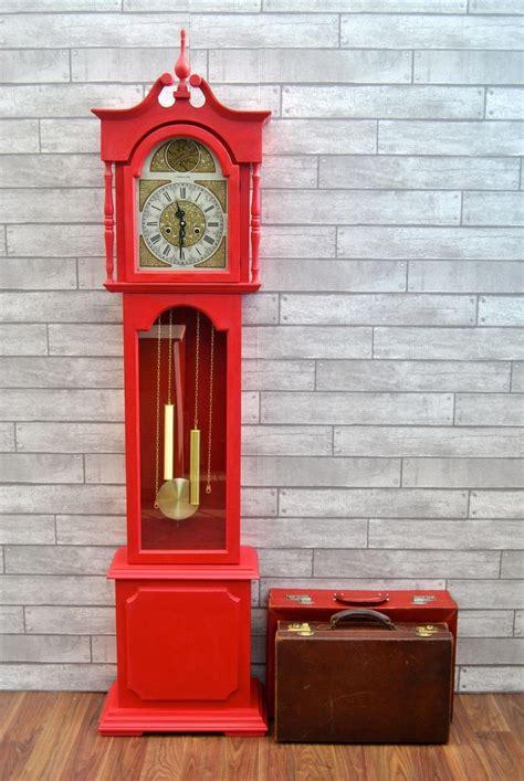 courtyard creations  clock painting grandmother clock