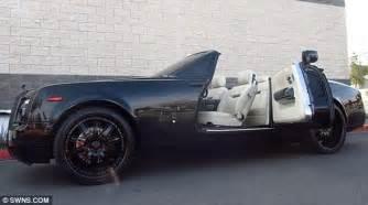 Beckham Rolls Royce David Beckham Sells His All Black Rolls Royce Phantom For