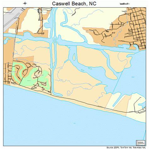 carolina map of beaches caswell carolina map 3710960
