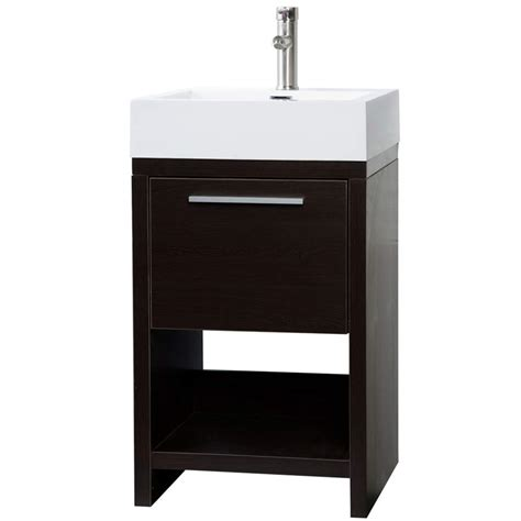 modern bathroom vanity set espresso free shipping tn l500