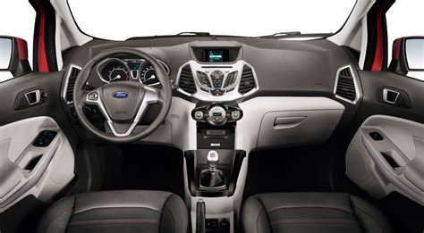 Ford Upholstery by Ford Ecosport 2013 Motor De 1 0 Litro Y 120 Hp