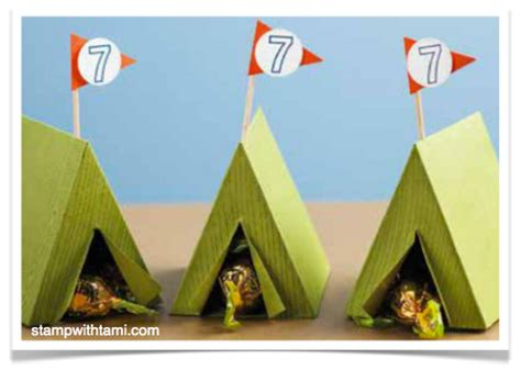 How To Make Paper Tent - cing tent projects stin up