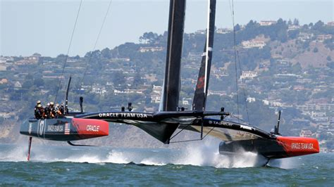 america s cup catamaran dimensions of americans on america s cup boat