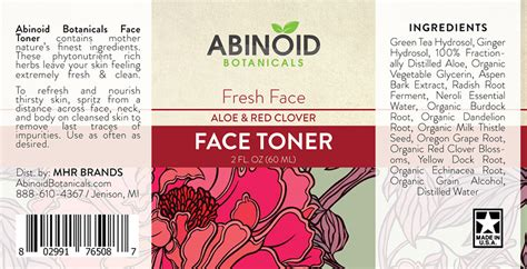 Sale Toner 60ml buy abinoid botanicals toner 2oz 60ml free shipping