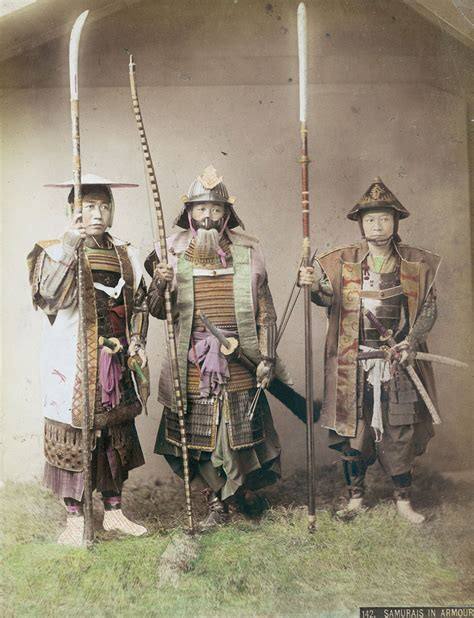 Ad Samurai the last samurai colored photos of last japanese