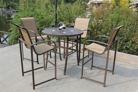 bar height patio furniture sets how to choose the right bar height patio furniture