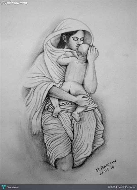 photos mother s love pencil arts drawings art gallery