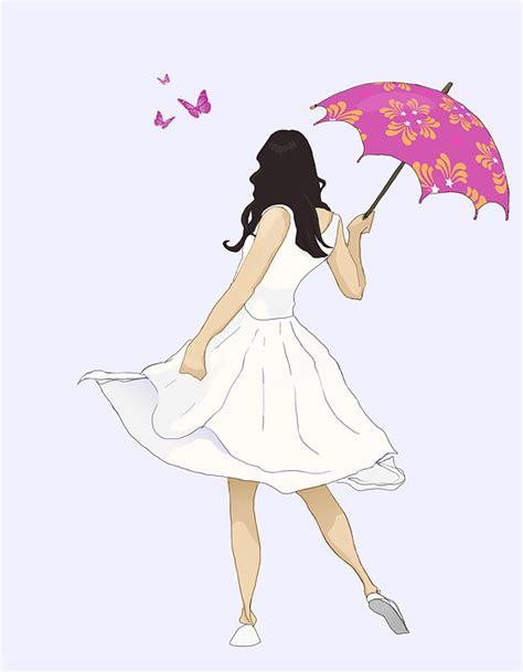 Almeera Umbrella Maxi Pink F A with umbrella by sammy514 on deviantart
