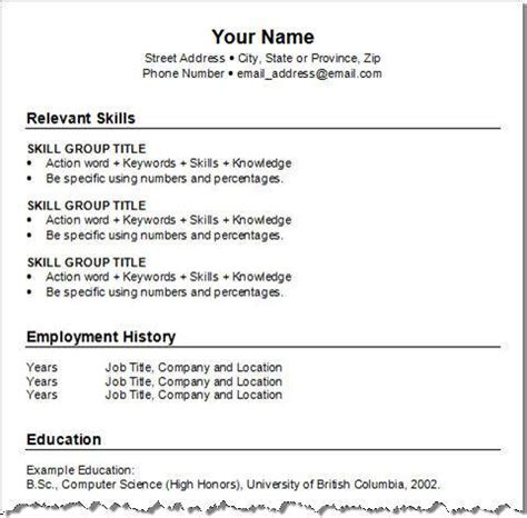 Make A Resume by Make A Resume 6 Resume Cv
