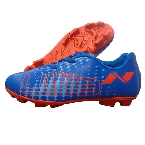 nivea football shoes nivia ultra football stud shoes blue and orange buy