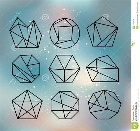 Kalung Fashion Geometry Shape Design geometric polygon seamless pattern fashion graphic design vector illustration background design
