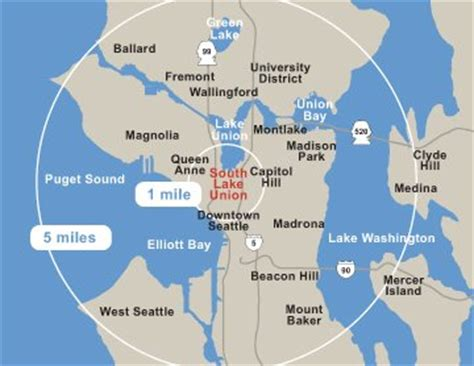 seattle map lake union seattle a city that likes its buses adds streetcars