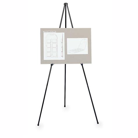 easel stand adjustable display folding easel stand