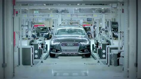 audi factory 2015 audi neckarsulm factory germany clip