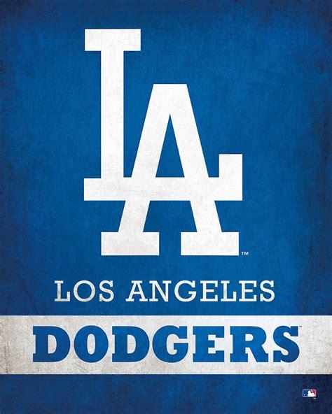 los angeles dodgers logo scoreart