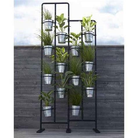 vertical metal plant stand 13 tiers display plants indoor