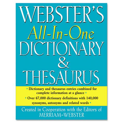 reference book thesaurus meaning merriam webster fsp0471 dictionary and thesaurus