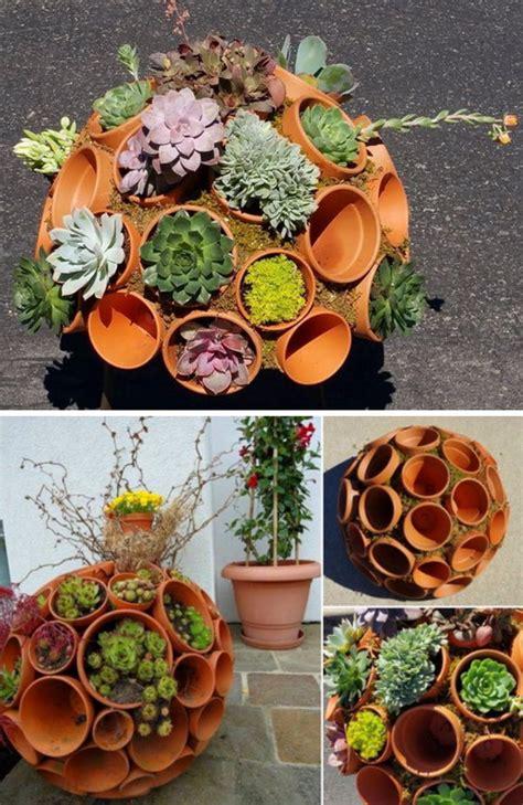 Fire Pit Fountain - creative indoor and outdoor succulent garden ideas 2017