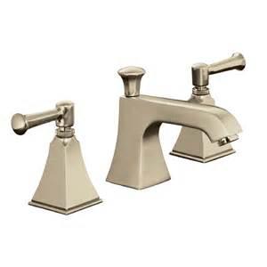 Brushed Bronze Bathroom Fixtures Shop Kohler Memoirs Vibrant Brushed Bronze 2 Handle Widespread Watersense Bathroom Faucet Drain