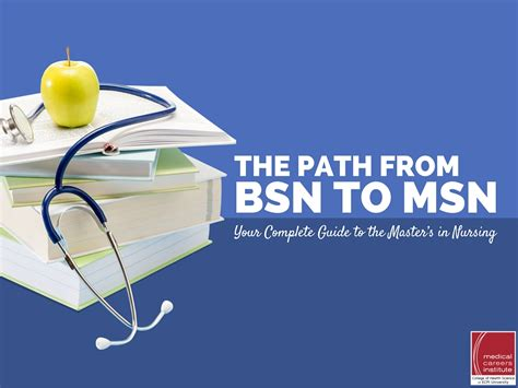 Bsn Mba Degree by The Path From Bsn To Msn Your Complete Guide To The