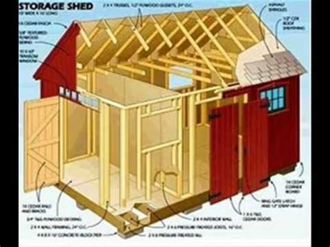 storage shed plans   shed plans youtube