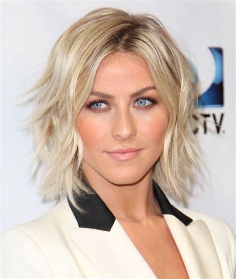 wave perms for chin lenght hair julianna hough chin length wavy bob hair cut hair