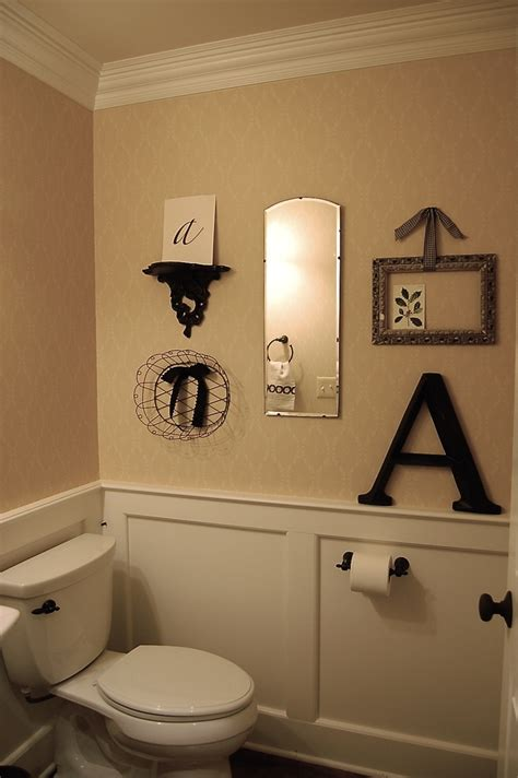 Half Bathroom Decorating Ideas Pin By Terrie Martinez On Bathroom Pinterest