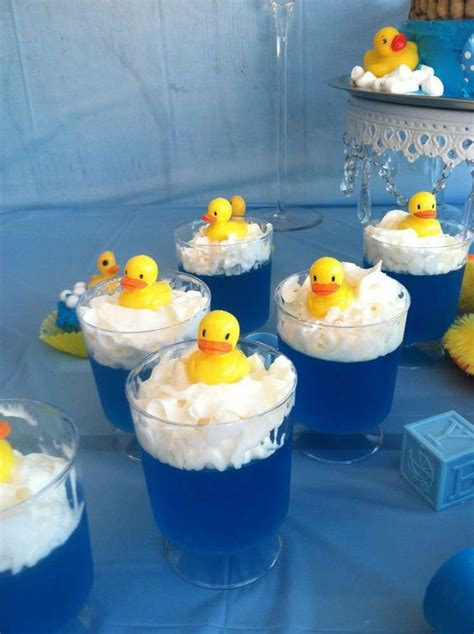 Rubber Duckies Baby Shower by Rubber Duckies Baby Shower Ideas Jello Cups Jello