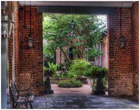 What Is A Courtyard by Panoramio Photo Of French Quarter Courtyard