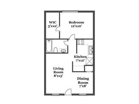 1 bedroom floor plan eagle s landing floor plans kalamazoo apartments